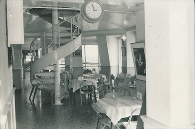 1973 Old building 7th floor cafeteria